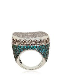Cleison Roche | Blue Snake Ring | Lyst