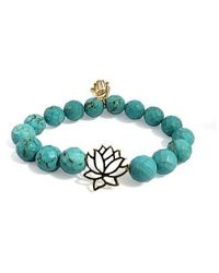 Electric Picks | Blue Flower Child Bracelet | Lyst