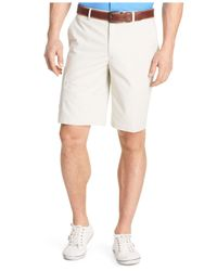 Izod | Natural Explorer Performance Cargo Shorts for Men | Lyst