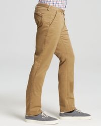 BOSS - Natural Boss Rice Stretch Gabardine Pants for Men - Lyst