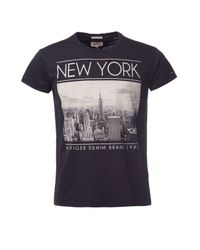 Tommy Hilfiger | Black Tel T Shirt for Men | Lyst