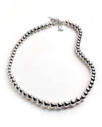 Lauren by Ralph Lauren | Metallic Faux Pearl Necklace | Lyst