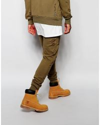 Criminal Damage | Green Shoreditch Jogger With Distressing for Men | Lyst