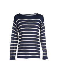 Roberto Collina - Blue Sweater for Men - Lyst