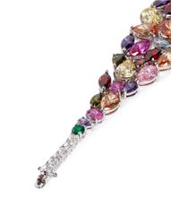 CZ by Kenneth Jay Lane - Multicolor Mix Cubic Zirconia Bracelet - Lyst