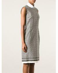 Lanvin - Black Dotted Dress - Lyst