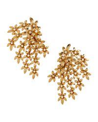 H&M | Metallic Long Clip Earrings | Lyst