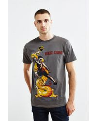 Urban Outfitters | Gray Mortal Kombat Johnny Cage Tee for Men | Lyst