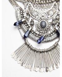 Free People | Metallic Womens Kingdom Statement Collar | Lyst