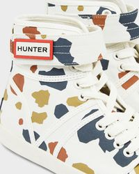 Hunter | Multicolor Original Terrazzo Print Hi-tops | Lyst