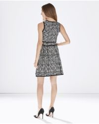 Parker - Gray Stormy Knit Dress - Lyst