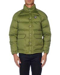 Golden Goose Deluxe Brand - Green Down Jacket for Men - Lyst