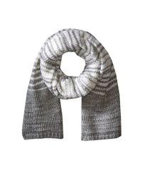 Calvin Klein | Gray Marble Stripe Scarf | Lyst