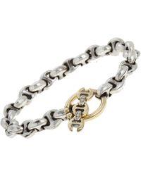Hoorsenbuhs | Metallic Tri-link Bracelet | Lyst