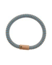 Carolina Bucci | Blue Rose Gold Twister Bracelet | Lyst