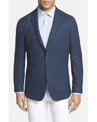 Vince Camuto | Blue 'dell Aria Air' Trim Fit Jacket for Men | Lyst