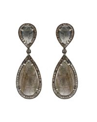 Adornia | Gray Hudson Earrings, Assorted Stones | Lyst