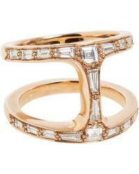 Hoorsenbuhs | Purple Diamond Rose Gold Dame Phantom Ring | Lyst