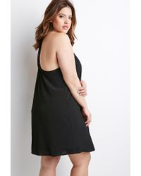 Forever 21 | Black Plus Size Crochet-back Cami Dress You've Been Added To The Waitlist | Lyst