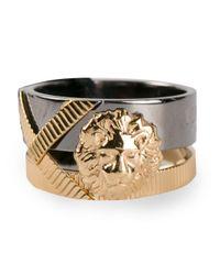 Versus | Metallic Lion Ring | Lyst