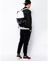 ASOS - White Leather Backpack for Men - Lyst