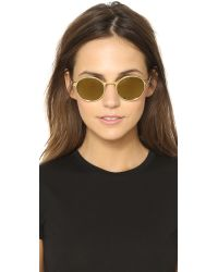 Etnia Barcelona - Metallic Yokohama Sunset Sunglasses - Gold - Lyst