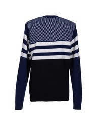 Libertine-Libertine - Blue Jumper for Men - Lyst