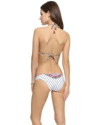 Tigerlily - Aqua Blanca Amelia Bikini Top - White - Lyst