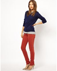 M.i.h Jeans - Red Vienna Skinny Jean in Clay - Lyst