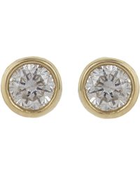 Jennifer Meyer | Metallic Gem Round Studs | Lyst