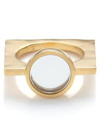 Bjorg | Metallic Gold The Alter Ego Ring | Lyst
