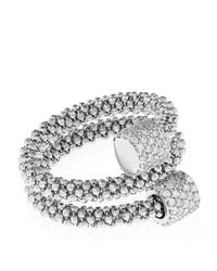 Links of London - Metallic Star Dust Silver Bead Wrap Ring - Lyst