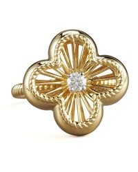 Roberto Coin | Metallic Art Nouveau Ring | Lyst