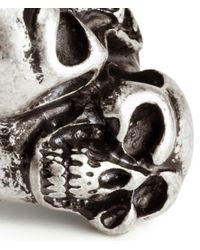 H&M | Metallic Skull Ring for Men | Lyst