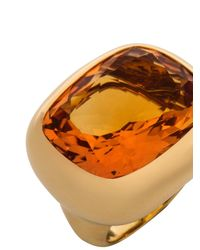 Kiki McDonough - Citrine & Yellow-Gold Ring - Lyst