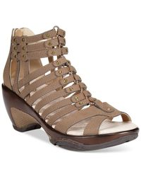 Jambu - Brown Jbu Women'S Nectar Wedge Sandals - Lyst