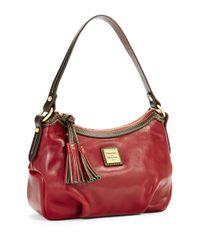 Dooney & Bourke   Red Pouchette Demi Handbag   Lyst