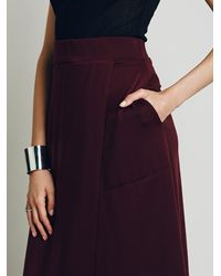 Free People - Brown Fp Beach Womens Breaktime Skirt - Lyst