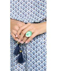 Alexis Bittar - Green Molten Ring - Lyst