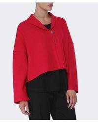 Oska | Red Lee Cropped Wool Jacket | Lyst