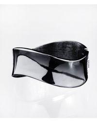 Express | Gray Wave Cuff Bracelet | Lyst