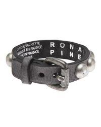 Ronald Pineau   Gray 'Nano' Bracelet   Lyst