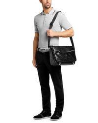 BOSS Green - Black 'pavit'   Messenger Bag for Men - Lyst