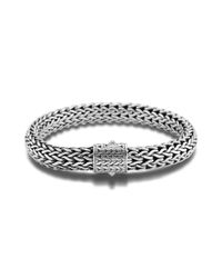 John Hardy - Metallic Large Bracelet - Lyst