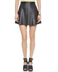 Love Leather | Legs Legs Legs Skirt - Black Licorice | Lyst