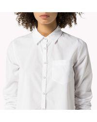 Tommy Hilfiger | White Cotton Shirt | Lyst