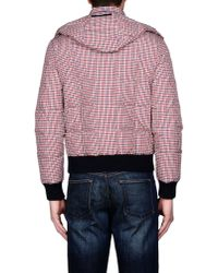 Patrizia Pepe - Red Down Jacket for Men - Lyst