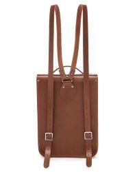 Cambridge Satchel Company   Brown Portrait Backpack   Lyst