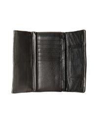 Brighton - Black Barbados Trifold Large Wallet - Lyst