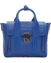 3.1 Phillip Lim | Blue Mini Pashli Messenger Bag | Lyst